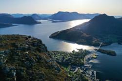 Midsundtrappene in Romsdal