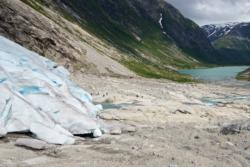 Glacier Walk on the Nigardsbreen Glacier in Jostedalen.