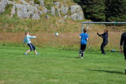 The football Court at Husøya Island