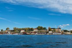 Akershus Fortress seen from the Oslofjord.