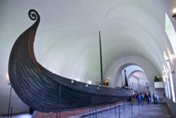 The Vikingship Museum and the Oseberg Long Ship.