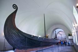 The Vikingship Museum and the Oseberg Long Ship.