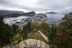 Aksla Viewpoint in Ålesund.