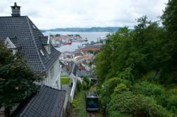 Fløibanen Funicular in Bergen