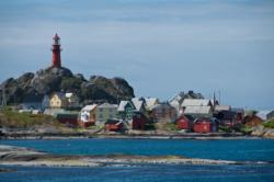 Ona Island and Ona Lighthouse
