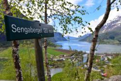 Sengjaberget at Skjolden