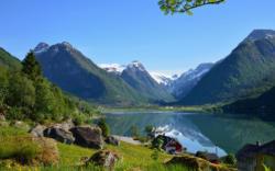Fjærland in Sogn