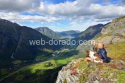 Mt. Litlefjellet in Romsdal