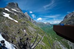 Trollstigen in Romsdal