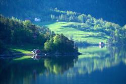 Ulvik in Hardanger. Hordaland, Norway.Photo: www.fjords.com