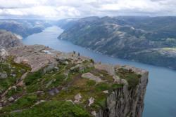 The Lysefjord.