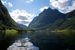 Rimstigen Hike in Nærøyfjorden