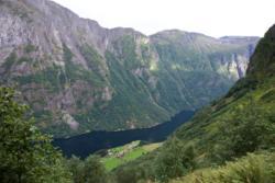 From the upper part of the Rimstigen Trail. View towards Bakka.