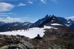Romsdalseggen, towards Mt Blånebba.
