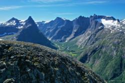 Romsdalseggen - Drone Photo