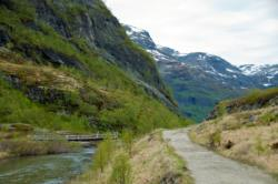 Rallarvegen. The Myrdal area.