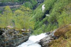 Rallarvegen. The Myrdal area.