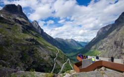 Trollstigen in Romsdal, Norway