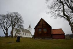 Kvernes Stave Church and Kvernes Church