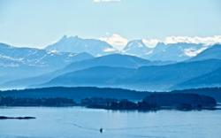 The Moldepanoama. View from the hills above Molde towards the Romsdalsfjord and the Romsdal Alps. Photo: www.fjords.com