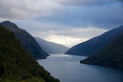 The Fjærlandsfjord in Sogn