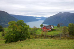 Mollandsmarki and the Lustrafjord