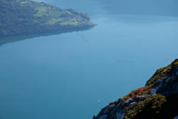View from Mt. Molden towards the Lustrafjord and Urnes