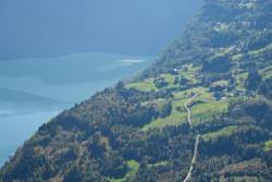 View from Mt. Molden towards Mollandsmarki