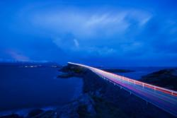 The Atlantic Road and Storseisundbrua Bridge.