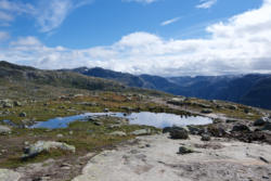 Hiking to Trolltunga