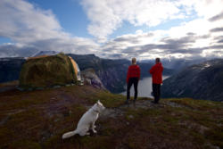 Hiking to Trolltunga