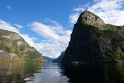 The Aurlandsfjord and Mt. Beitelen
