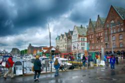 The harbour in Bergen.
