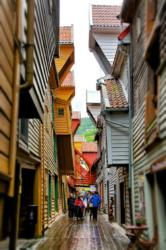 Bryggen in Bergen.