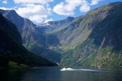 RIB Boat in the Nærøyfjord